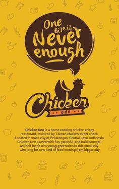 restaurant logo restaurant logo Chicken One Restaurant - Logo and Items Designs on Behance Chicken Restaurant Logos, Restaurant Logo Design, Food Logo Design, App Design, Identity Design, Brochure Design, Design Trends, Typography Logo, Lettering