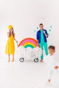 How To Make A Family Weather Costume | studiodiy.com