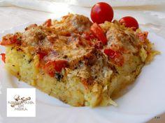 Egy finom Tepsis krumpli húsgolyókkal ebédre vagy vacsorára? Tepsis krumpli húsgolyókkal Receptek a Mindmegette.hu Recept gyűjteményében!