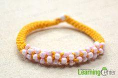 finished Chinese knot bracelet