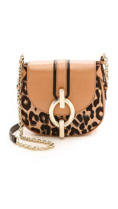 Diane Von Furstenberg Sutra Mini Leopard Jacquard Cross Body Bag - Leopard/Sandalwood by: Diane von Furstenberg @Shopbop