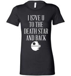 Star Wars Love T- Shirt Size - medium Star Wars Love, Star War 3, Death Star, Nerd Love, My Love, Star Wars Merchandise, Star Wars Party, Love Stars, Love T Shirt