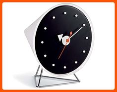 Vitra Cone Desk Clock by George Nelson - Improve your home (*Amazon Partner-Link)