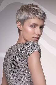 short haircuts for gray hair - Google Search