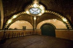 NYC... New York City Secret Subway Station #NYC