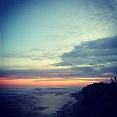 The sun going down in Pleasure Point Pleasure Point, The Neighbourhood, Photographs, Friday, Celestial, Sunset, Outdoor, Beautiful, Santa Cruz
