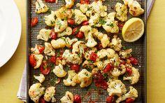 Roasted Italian Cauliflower Recipe by Food Network Kitchens : Food Network UK
