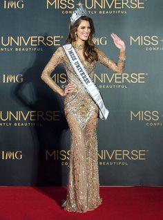 5 Things to Know About the New Miss Universe: France's Iris Mittenaere Iris, Things To Know, 5 Things, Dental Surgery, Best Oral, Sick Kids, Glamour, Miss Dress, Beauty Pageant