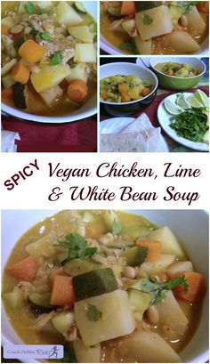 This spicy chicken, lime and white bean soup will warm you up this ...
