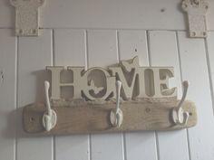 Cream home coat peg Base: 20 x 3.5in £16