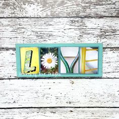 LOVE Wood Sign  Picture Photo Letters by LettersOfLoveDesigns