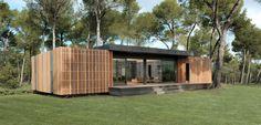 """La """"pop-up House"""" une révolution dans le passif. Maison économique, écologique et matériaux recyclables, construite en 4 jours !"""