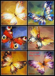 cheap oil painting supplies buy quality oil paintings cheap directly from china oil painting buyer suppliers welcome to our new store pboy note p ? Butterfly Painting, Butterfly Watercolor, Butterfly Art, Flower Art, China Painting, Oil Painting On Canvas, Oil Paintings, Oil Painting Supplies, Art Watercolor