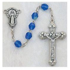 Birthstone Rosary - September