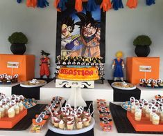 fiestas infantiles de Goku, ideas para fiesta de dragon ball, cumpleaños tematico de dragon ball, fiesta tematica de goku, como decorar una fiesta de goku, decoracion con globos de dragon ball, cumpleaños de goku, ideas para cumpleaños de goku, fiesta infantil de goku, diseño de pasteles de goku, pasteles de dragon ball, cumpleaños de dragon ball z, goku party, dragon ball party, parties decoration, decoracion de fiestas infantiles #decoraciondeeventos #fiestasinfantiles #fiestadegoku