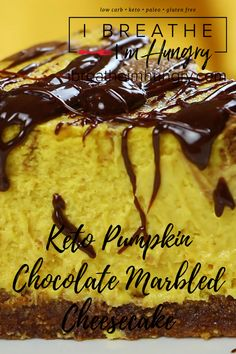 The Rise Of Private Label Brands In The Retail Meals Current Market Keto Pumpkin Chocolate Marbled Cheesecake By I Breathe I'm Hungry. This Easy, Low Carb Recipe Is One Of The Best Keto Desserts. Pin Made By Gluten Free Meal Plan, Best Gluten Free Recipes, Low Carb Recipes, Ketogenic Recipes, Keto Cheesecake, Pumpkin Cheesecake, Best Keto Meals, Keto Desserts, Keto Snacks
