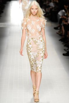 Blumarine Spring 2014 Ready-to-Wear - Collection - Gallery - Look 2 - Style.com