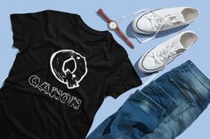 WWG1WGA Qanon Q Anon Shirt Q T Shirt MAGA Qanon Apparel   Where We Go One We T Shirt Designs, Camper, Album Cover Design, Lets Stay Home, Cotton Tee, Unisex, Let It Be, Tees, Vacation