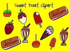 Clipart-Variety Pack Remember  to rate and comment after purchase and receive TPT credits to use towards items. Clipart Variety Pack- 38 colorful, hand drawn, clipart items. This is a great Variety pack for scrapbooking, blog, or TPT products. The items are for personal and commercial use; however, please read the terms of use included in the zip.