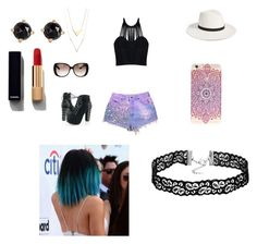 """""""Bling bling"""" by nathalye-1 on Polyvore featuring Posh Girl, Janessa Leone, Gucci, Irene Neuwirth and Chanel"""