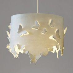 Interieurideeën | vilten vlinderlamp rond Door MM80