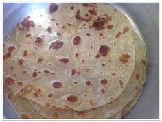 Learn To Make Roti - Step By Step Video.  Hand Made Bread using a rolling pin.