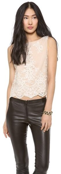 Alice + Olivia Amal Embellished Top on shopstyle.com