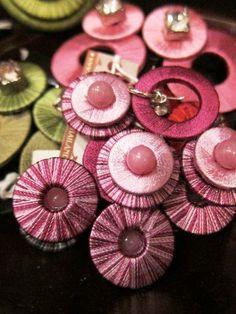 Thailand Stocking Filler Series: #Handmade #thread #earrings from Four Seasons Resort Koh Samui, #Thailand. #FSKohSamui