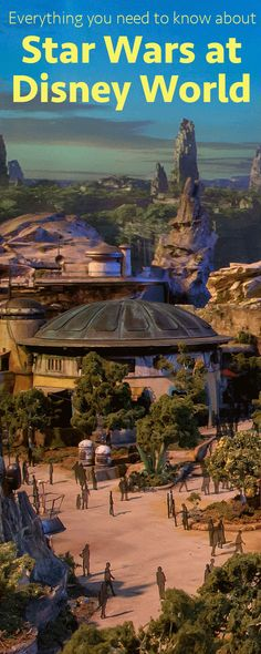 Everything you need to know about Star Wars at Disney Word including the latest news on the new Star Wars Land - Star Wars: Galaxy's Edge | Hollywood Studios #starwars #disneyworld #hollywoodstudios #galaxysedge #disneyparks #starwarsgalaxysedge