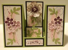 Petite Petals Double Sided Step Card