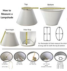How To Measure A Lamp Shade How To Measure Lampshades  Jharris Lampshades  Pittsburgh Pa