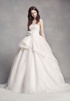 White by Vera Wang White by Vera Wang Style VW351315 Wedding Dress - The Knot