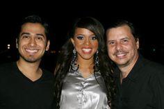 Junto a Tatiana Ares finalista de Nuestra Belleza Latina 2012
