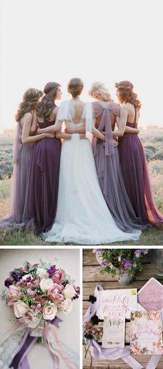 Lavender and purple palette
