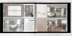 Pages by Bobbi-Jo Grunewald featuring the Cinnamon Edition and Midnight Mini Album.