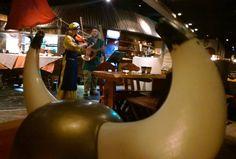 Viikinkiravintola Haraldin viikinkikaste. Kasteen suorittaneista poikasista tulee miehiä ja miehistä viikinkejä. Naisille kasteen suorittaminen on merkki määräysvallasta perheen sisällä. Kasteessa kokelas syö palan HAPANHAITA ja huuhtelee koettelemuksen alas vainojuomalla. www.ravintolahara... Egg Chair, Vikings, Lounge, Home Decor, The Vikings, Airport Lounge, Drawing Rooms, Decoration Home, Room Decor