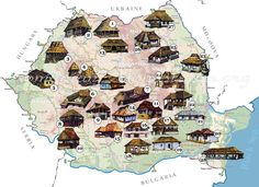 Types of romanian  old houses