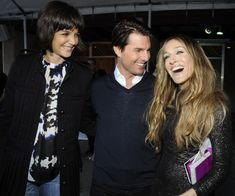 Katie Holmes, Tom Cruise, and Sarah Jessica Parker at the 2008 MTV Movie Awards