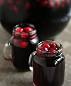 Cranberry Sangria For Fall & Winter Weddings ~ we ❤ this! moncheribridals.com