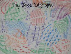 Contour Line Drawing Shoes Lesson Plan : Art 7: continuous contour line drawing