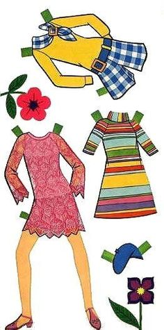 Paper Dolls~Wiggie Paper Doll - Bonnie Jones - Álbumes web de Picasa