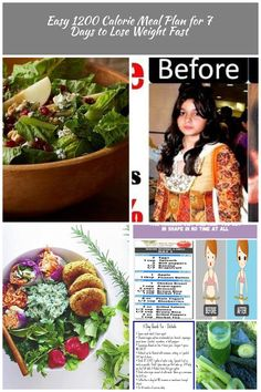Easy 1200 Calorie Meal Plan for 7 Days to Lose Weight Fast 1200 calorie diet Easy 1200 Calorie Meal Plan for 7 Days to Lose Weight Fast