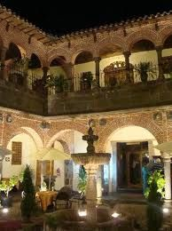 "Nights on the hacienda.  Hacienda in Spanish means ""estate"", large land holdings, wealth."