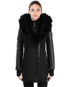 RUDSAK GRACE COAT in Black FUR – DejavuTailoring