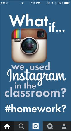 Use the social media our teens love to help study curriculum. FREE ideas and blog post at laurarandazzo.com. #highschoolEnglish #middleschoolEnglish #Instagram