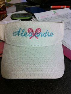 Tennis visor