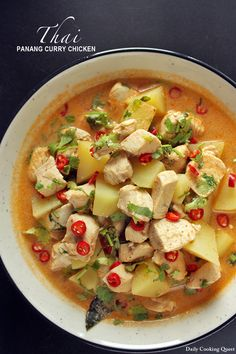 Thai Panang Curry Chicken