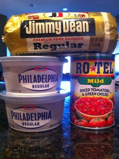Sausage dip - looks like a party favorite