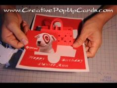 Gift Purse Pop Up Card Tutorial - YouTube