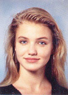 Celebrity Yearbook Pictures - Cameron Diaz - My10Online : My10Online